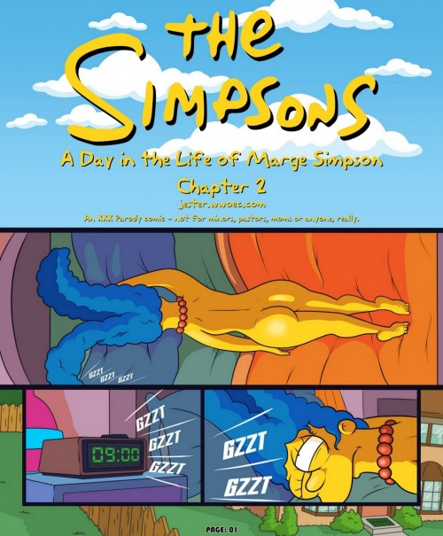 The Simpsons- Day in the Life of Marge