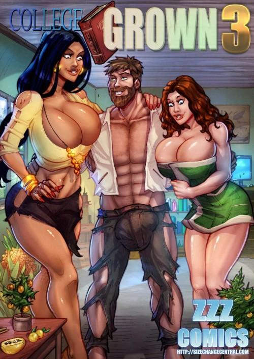 ZZZ Comics - College  Grown 3