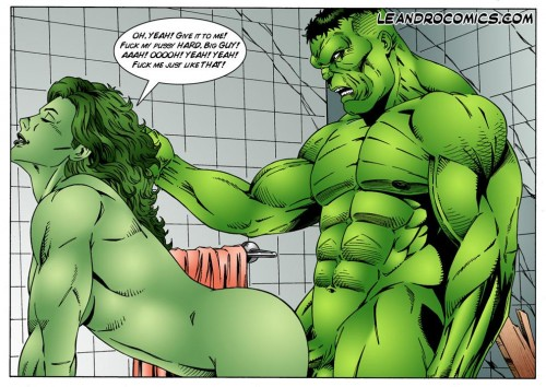 Wonder Woman vs Incredibly Horny Hulk