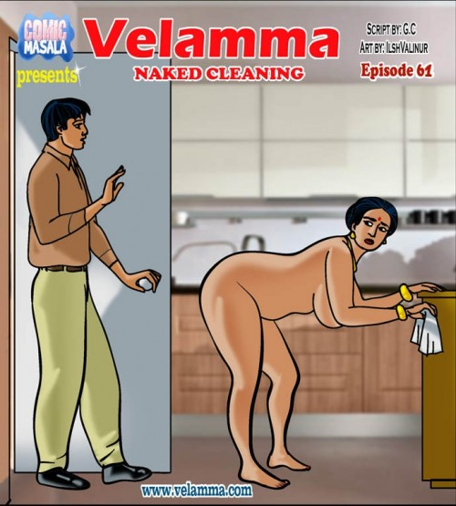Velamma Episode 61-Naked Cleaning