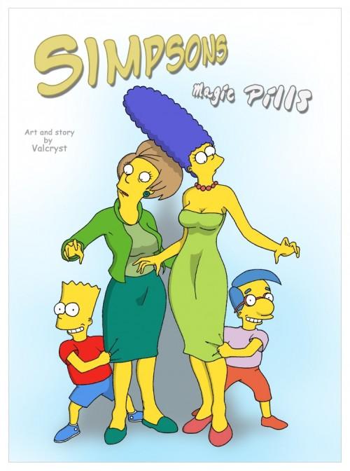 The Simpsons -Magic Pills