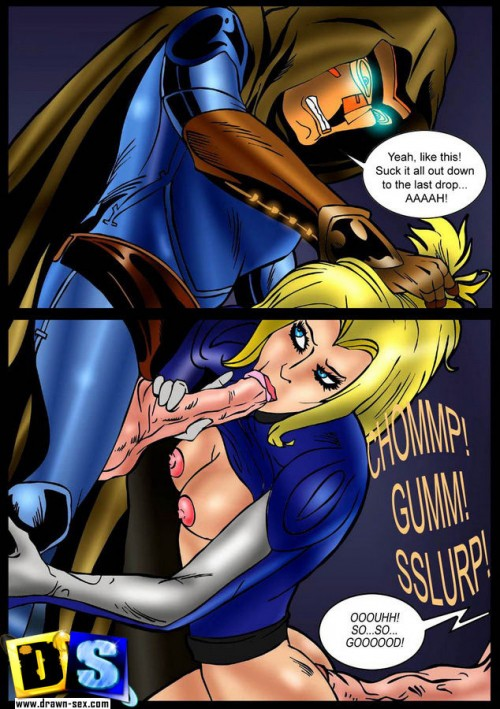 Drawn Sex - Fantastic Four aeon flux