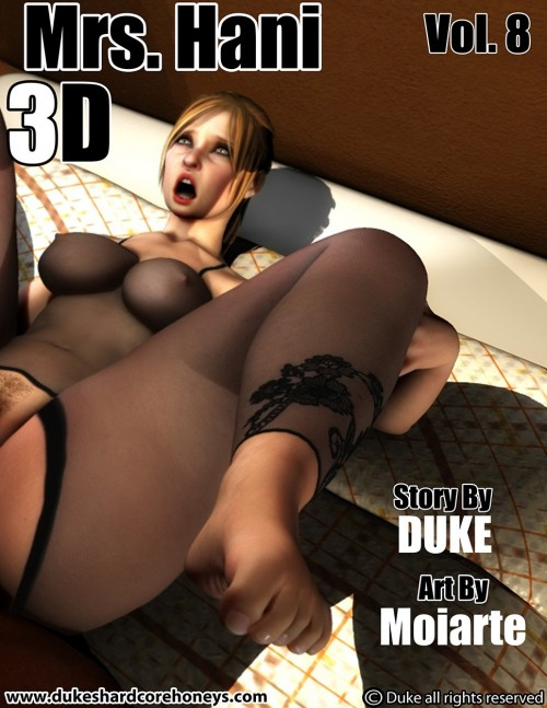 Mrs Hani Vol 8- Big Ass 3D