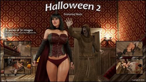 Blackadder- Halloween 2