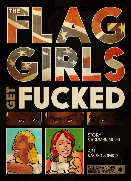 Flag Girls Get Fucked- Kaos