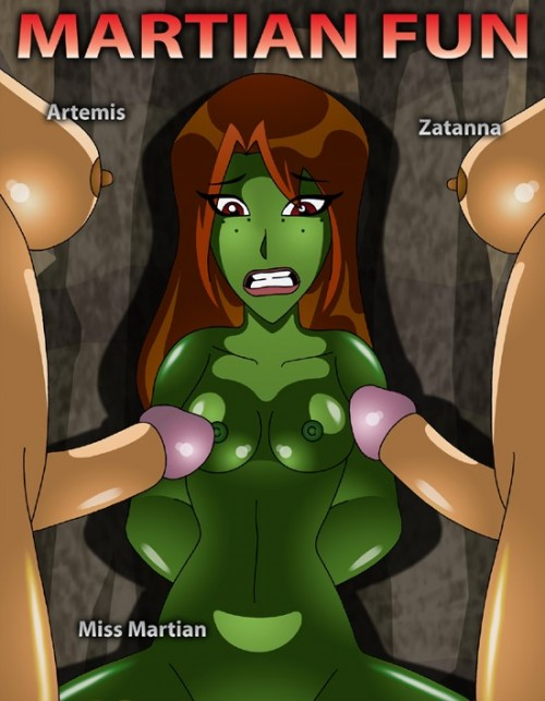 Martian Fun - Miss Martian 1