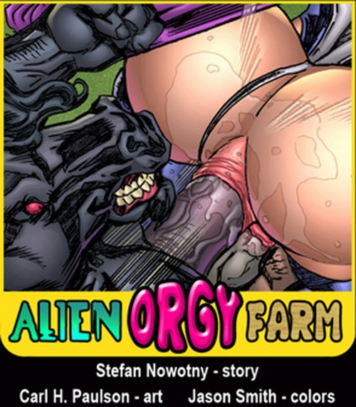 Alien Orgy Farm- SuperheroineXXX