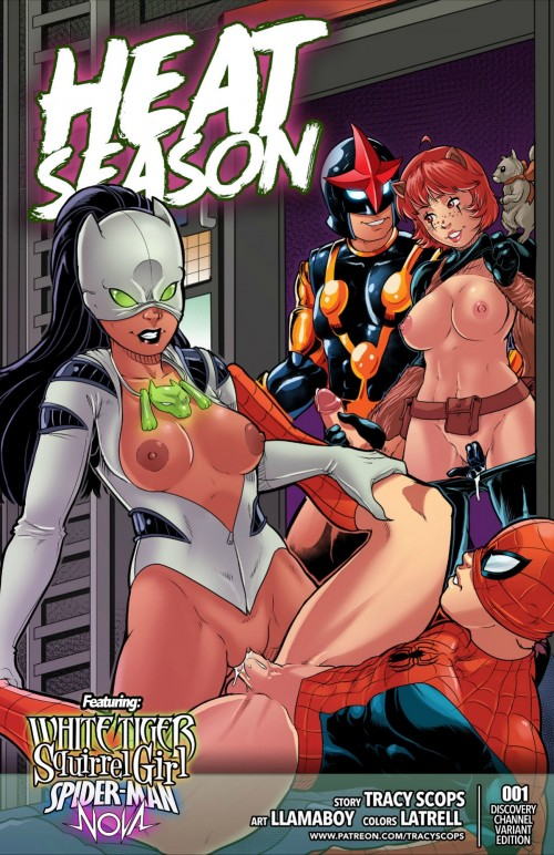 Tracy Scops – Heat Season ( White Tiger & Spiderman)