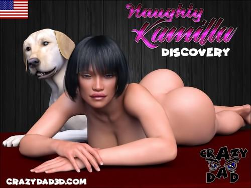 Naughty Kamilla Discovery- CrazyDad3D