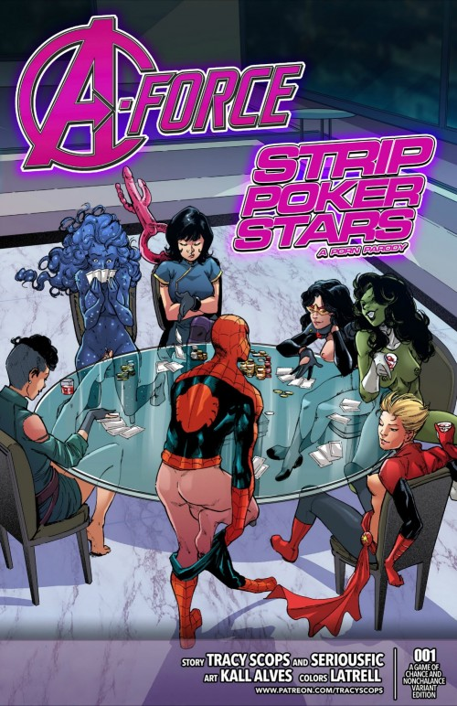 A-Force – Strip Poker Stars by Tracy Scops