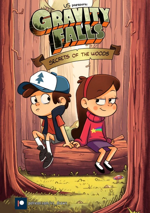 Gravity Falls- Secret Of The Woods