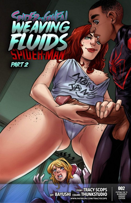 Tracy Scops- Weaving Fluids 2 (Spider-Man)