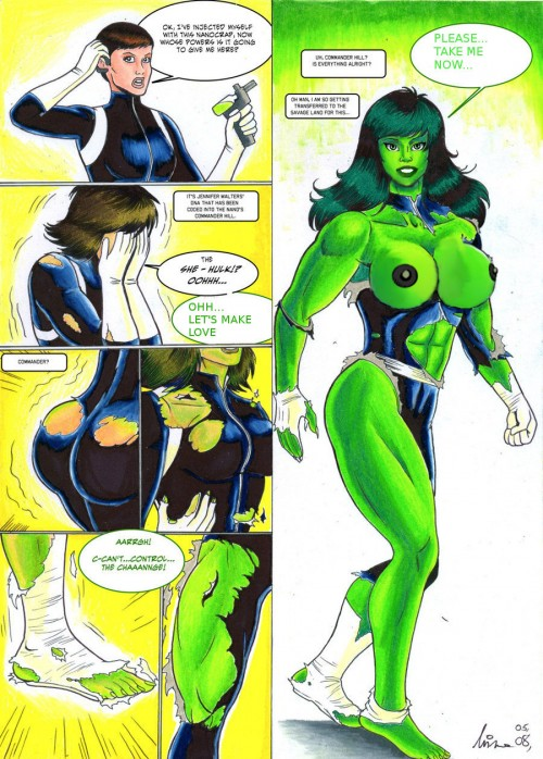 She-Hulk – Transformations