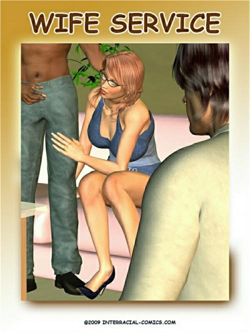 Wife Service- Interracial