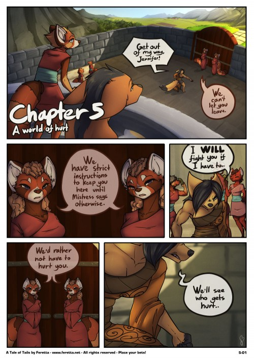 A Tale of Tails Chapter 5- A World of Hurt