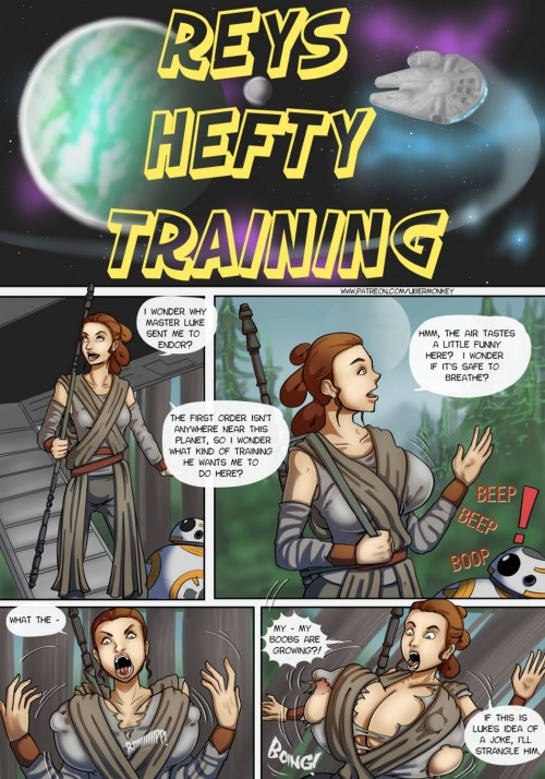 Reys Hefty Training by UberMonkey