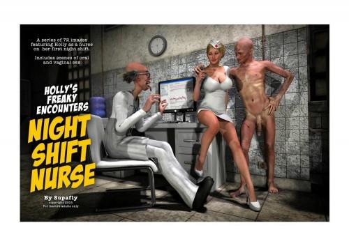 Holly's Freaky Encounters- Night Shift Nurse [SupaFly]