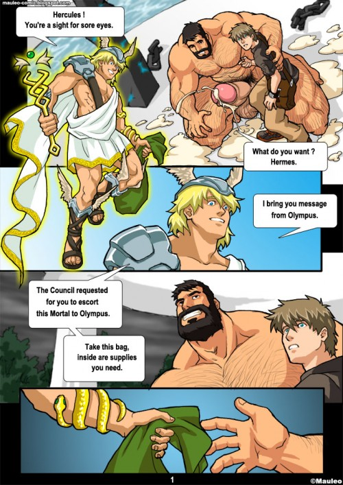 Mauleo – Hercules-Power Up Part 1- 2