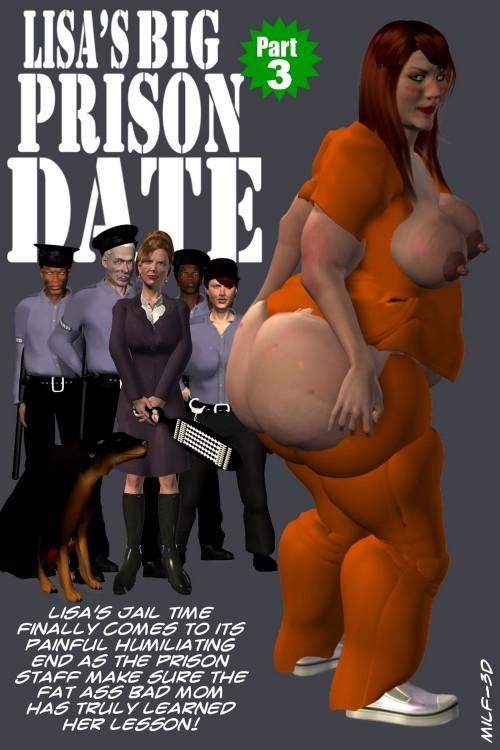 Lisa's Big Prison Date Part 3- Milf3D
