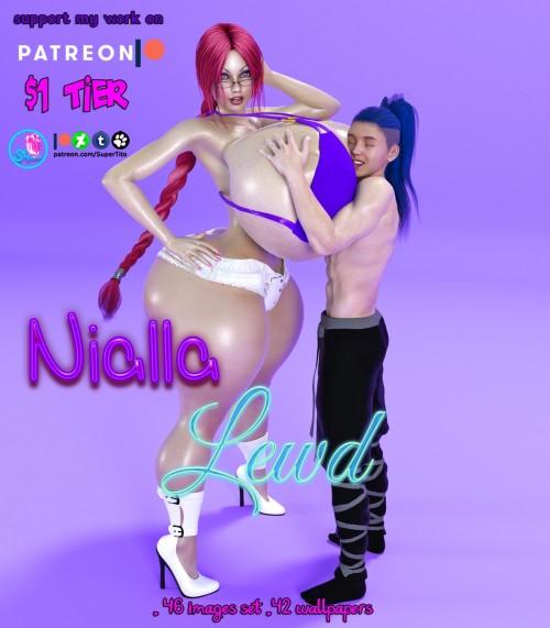 Nialla Naughty Lewd by SuperTito