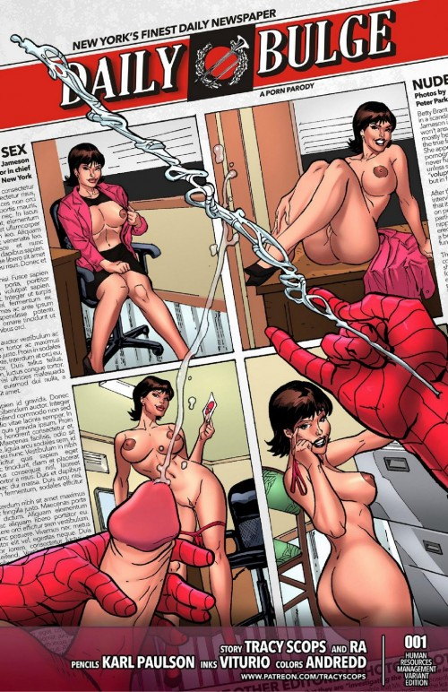 Daily Spiderman Bugle- Tracy Scops