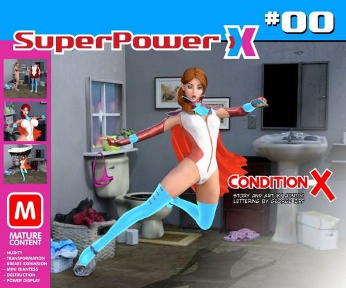 SuperPower X #00- Condition X by ADN700