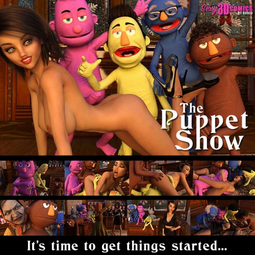 The Puppet Show by Sexy3dComics