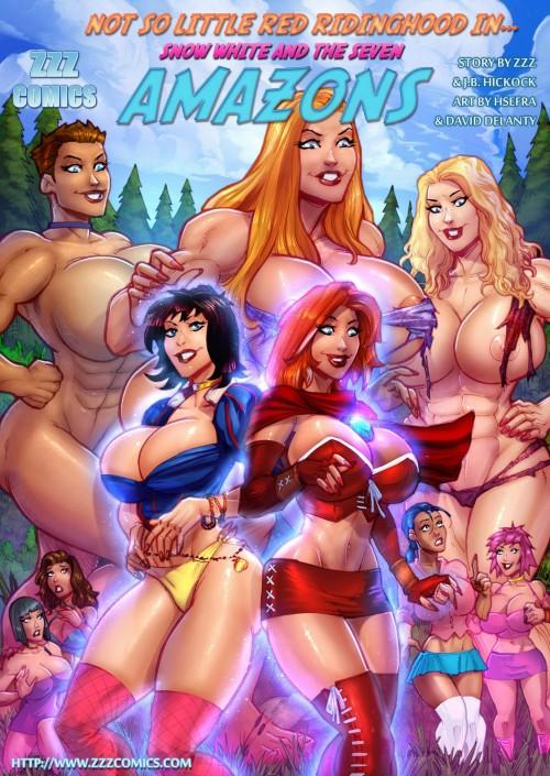 Snow white and seven amazons- ZZZ Comix