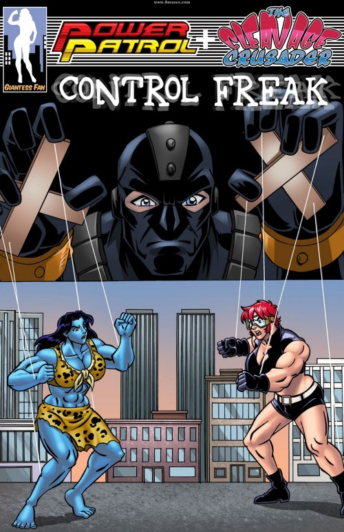 Power Patrol and The Cleavage Crusader- Control Freak