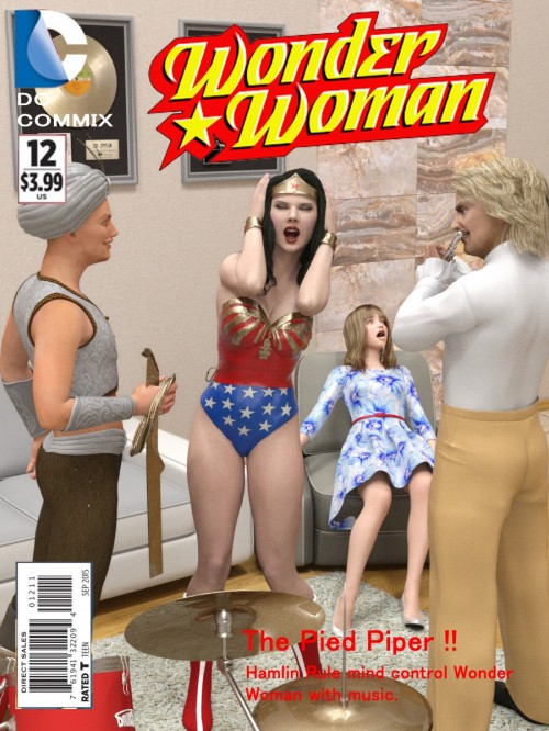 Wonder Woman- The Pied Piper (DC comix)