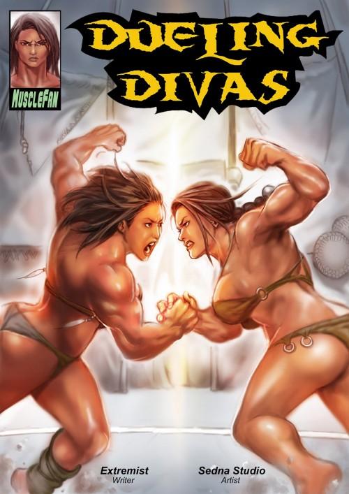 Musclefan- Dueling Divas