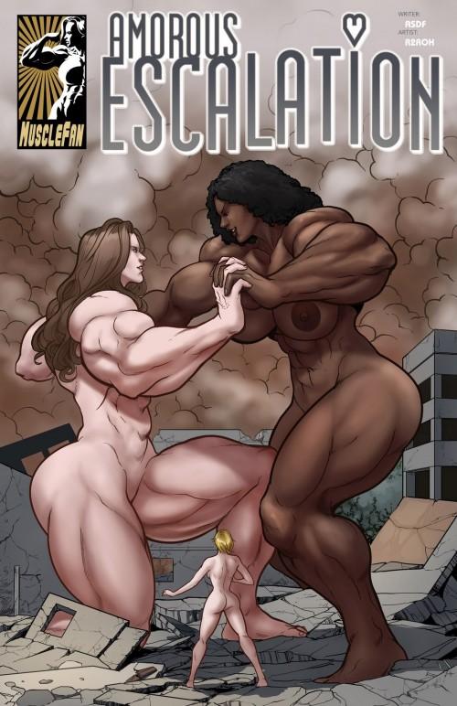 Amorous Escalation 01- MuscleFan