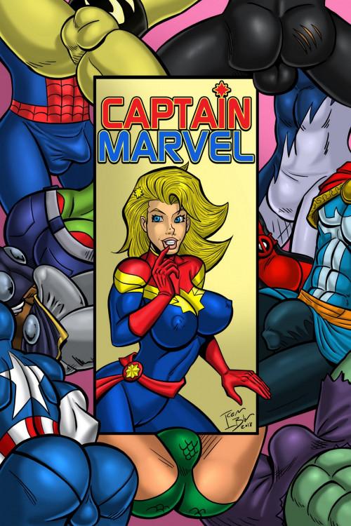 Captain Marvel – Iceman Blue