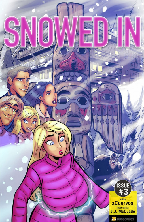 Snowed In Issue 3- Botcomics