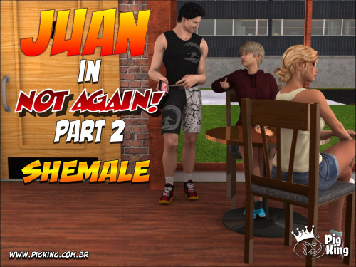 Jlian in Not Again Part 2- Shemale PigKing