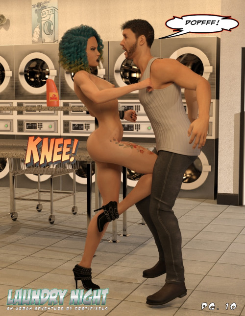 Laundry Night - Erotipixels