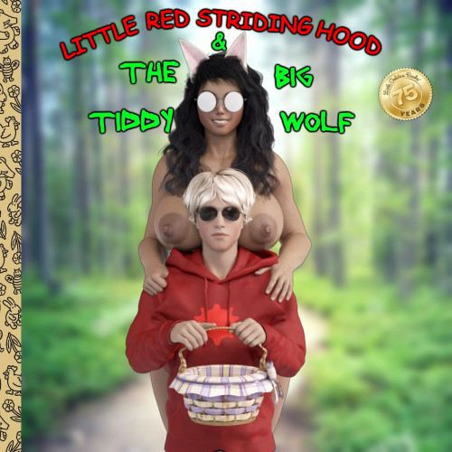Little Red Striding Hood And The Big Tiddy Wolf- Homestuck