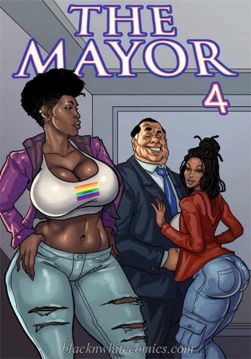 The Mayor Part 4- BlacknWhitecomics