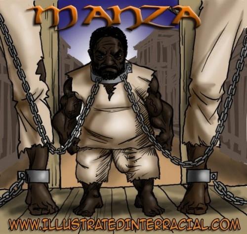 Illustrated Interracial-Manza