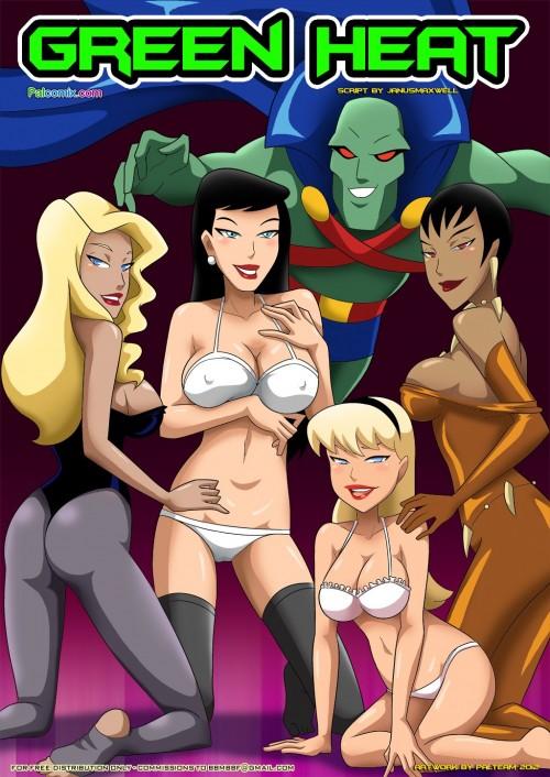 Justice League - Green Heat