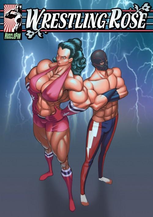 Muscle Fan – Wrestling Rose 2